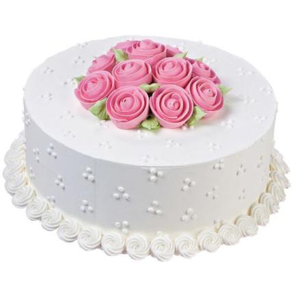 Rose Bunch Cake-0.5 Kg