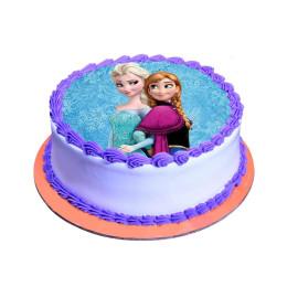 Elsa & Anna Cake- 500 gm
