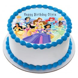Princess Photo Cake-0.5 Kg