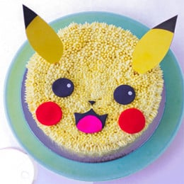Pokemon Pikachu Cake- 500 gm