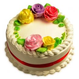Wreathy Vanilla Cake - 500 Gm