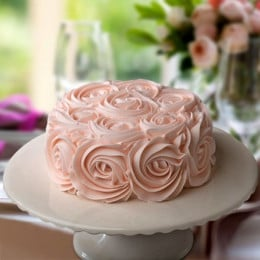 Gorgeous Roses Cake - 500 Gm