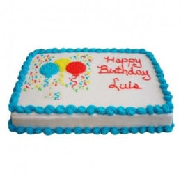 Joyous Balloon Cake - 500 Gm