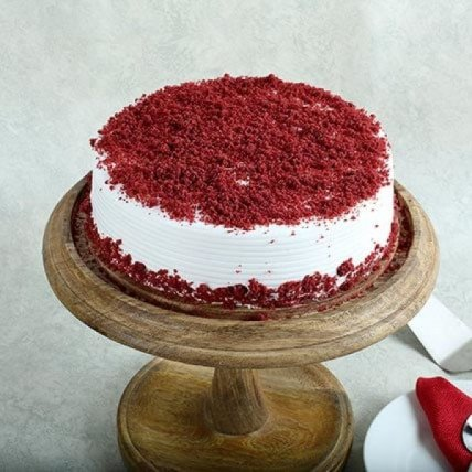 Red Velvet Kuchen - 500 Gm