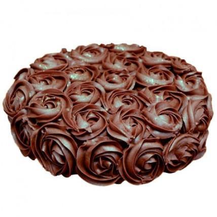 Dark Rosy Bite Cake - 500 Gm