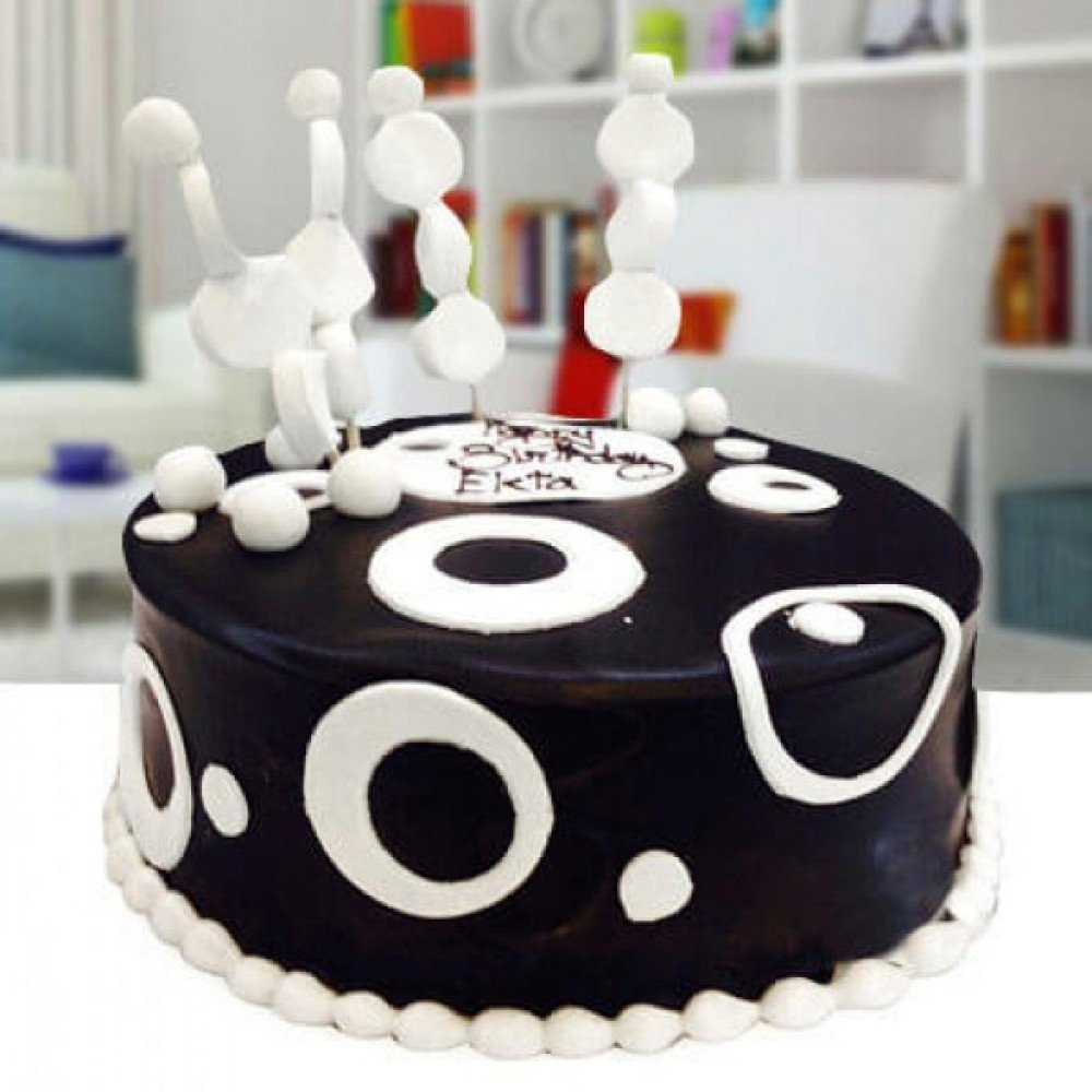 Remarkable Black White Cake Relations Are All About Balancing The Sweet Funny Birthday Cards Online Alyptdamsfinfo