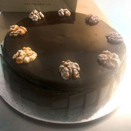 Exotic Wallnut Cake - 500 Gm
