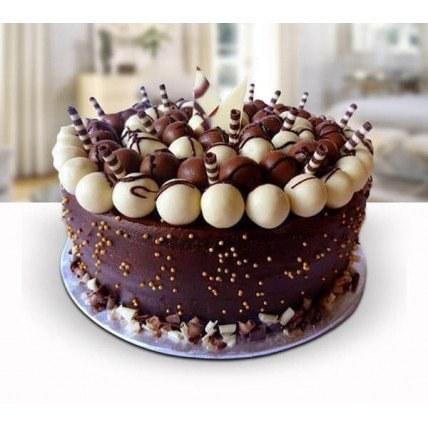 Chocolate Ball Cake - 500 Gm