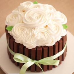 Kitkat Vanila Cake - 500 Gm