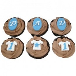 Dad Special Cupcakes-set of 6
