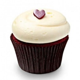 Cute Red Velvet Cupcakes-set of 6