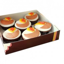 Diya Cupcakes-set of 6
