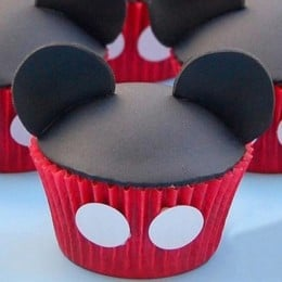 Mickey Mouse Mania Cupcakes-set of 6