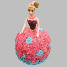 Dashing Barbie Cake - 2 KG