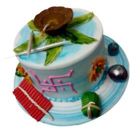 Shubh Diwali Cake-1.5 Kgs
