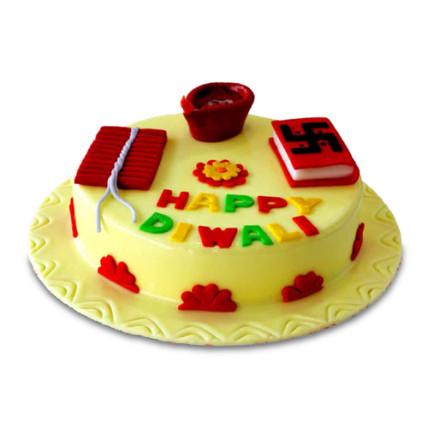Happy Diwali Cake-1 Kgs