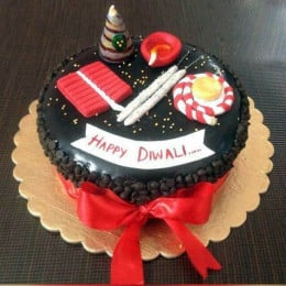 Diwali Cracker Cake-1 Kgs
