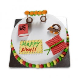 Merry Diwali Cake-1 Kgs