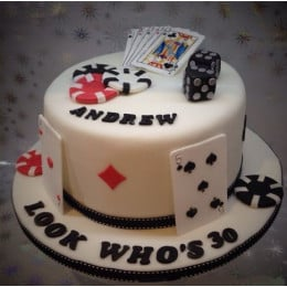 Card Party Cake-1.5 Kgs