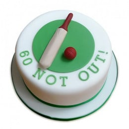 60 Not Out Designer Cake - 1 kg