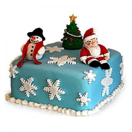 Festive Christmas Cake - 2 KG