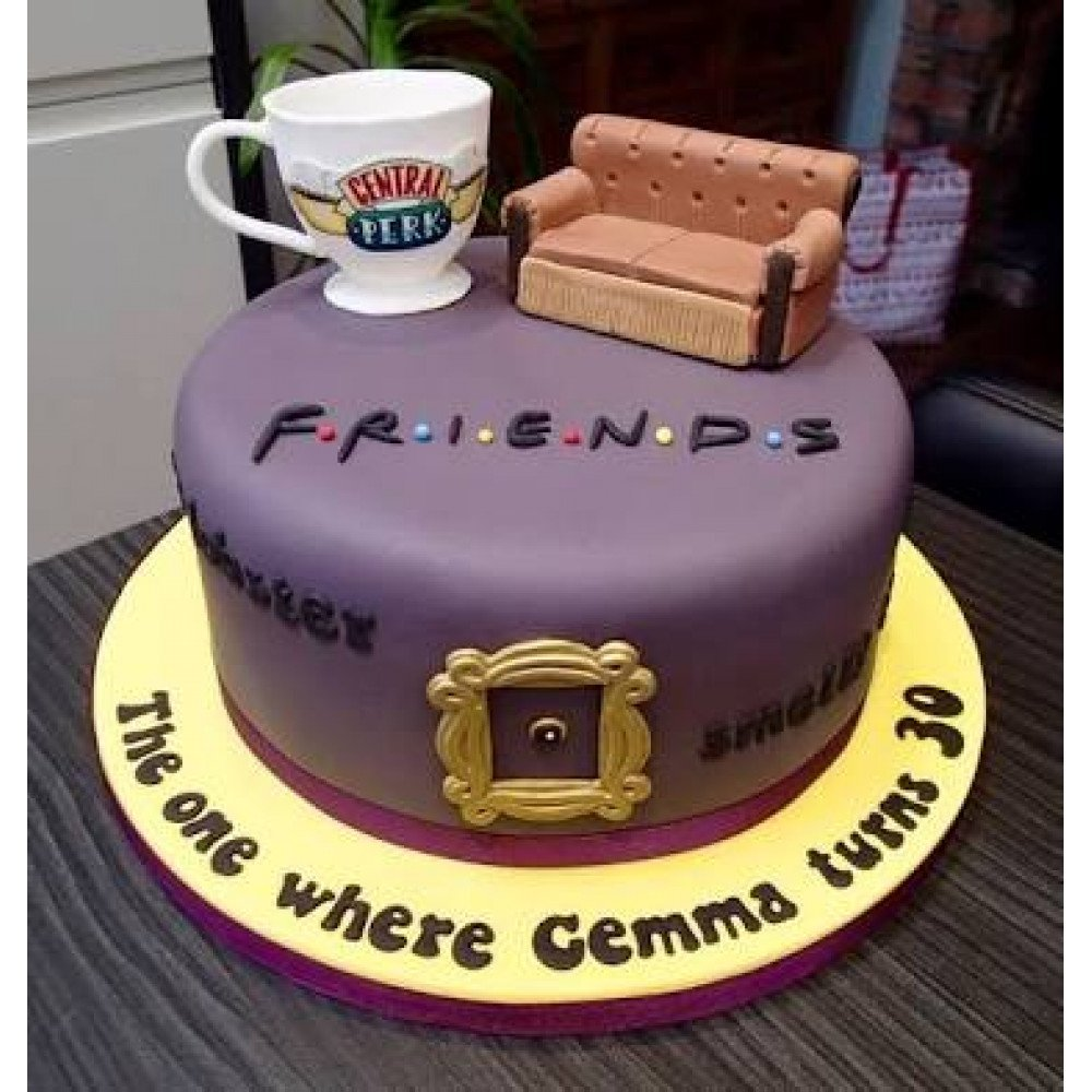 Stupendous Friends Forever Cake 3 Gift This Amazing Mouthwatering Cakes To Funny Birthday Cards Online Chimdamsfinfo
