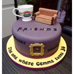Friends Forever Cake-1.5 Kg