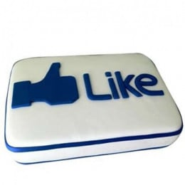 Facebook Customized Cake - 500 Gm