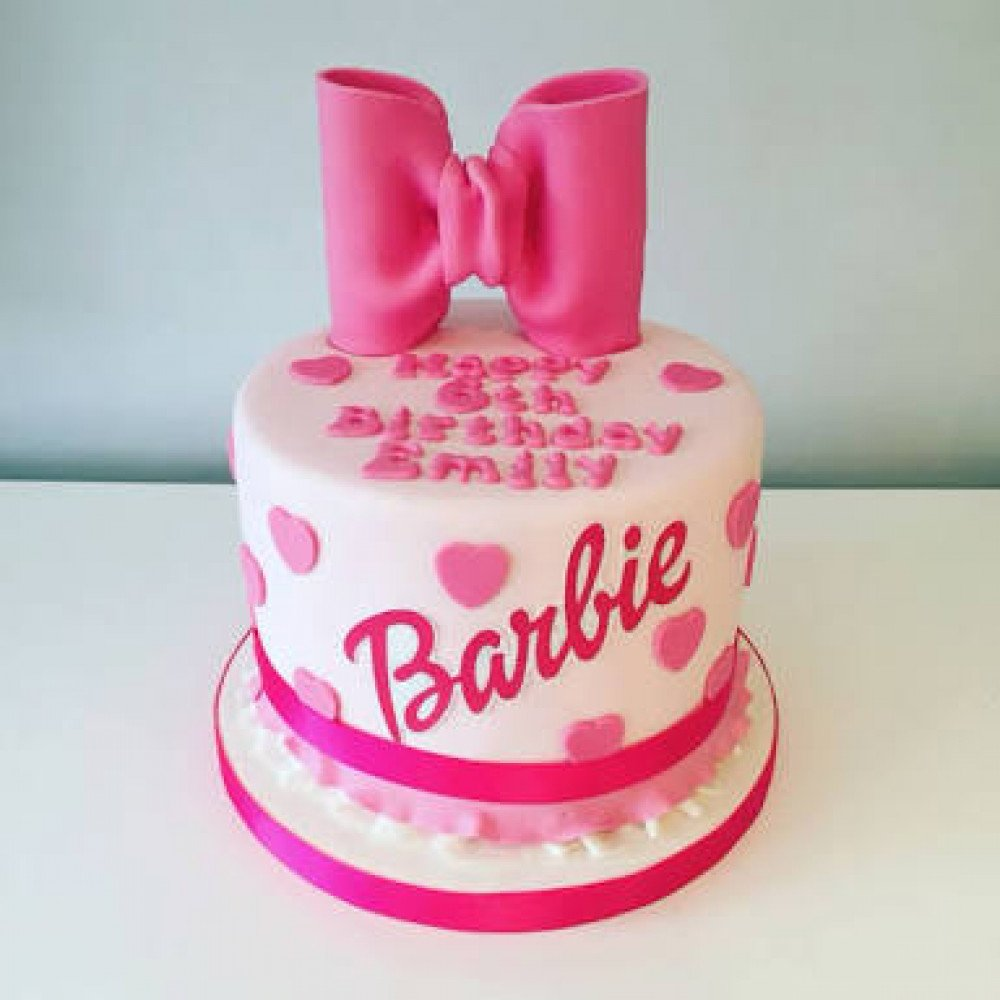 My Barbie Cake 1 Kg Every Baby Girl Is Like A Doll For Their