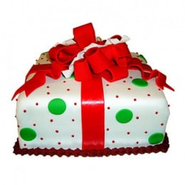 Exquisite Christmas Gift Cake - 1 KG