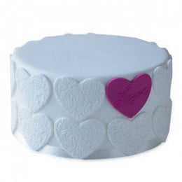 Elegant Love Cake - 500 Gm