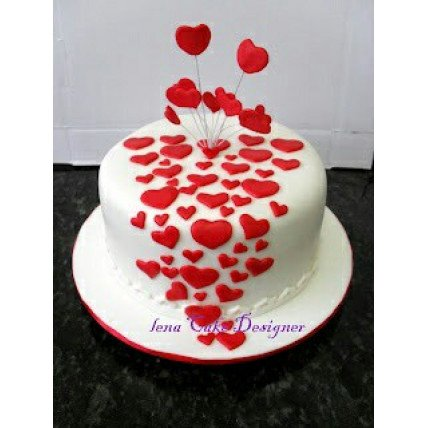 Little Hearts Cake-500 Gm
