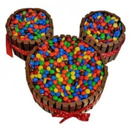Mickey Mouse Kit Kat Cake - 3 KG
