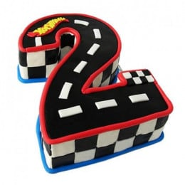 Racing Track Cake - 2 KG
