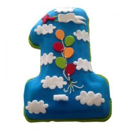 Fun Loving Fondant Cake - 2 KG