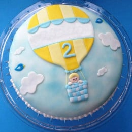 Baby In Balloon Cake - 2 KG