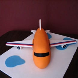 Bright Airplane Cake - 3 KG