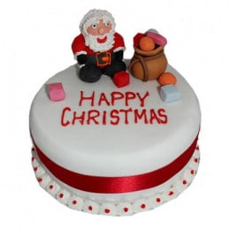 Santa Claus Christmas Cake - 1 KG