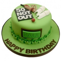 Not out cricket cake - 1 KG