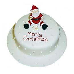 Santa Christmas Cake - 1 KG