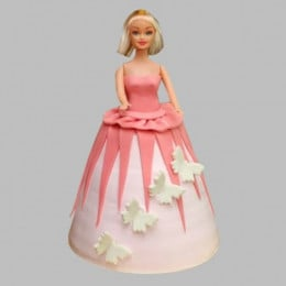 Gorgeous Barbie Cake - 2 KG