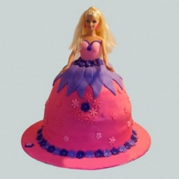 Royal Barbie Cake - 2 KG
