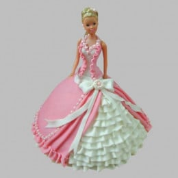 Ultra Style Queen Barbie Cake - 2 KG