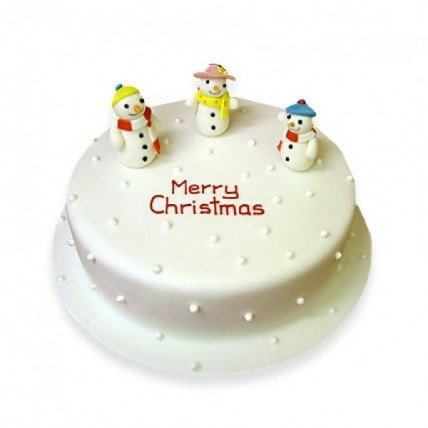 Snowy Christmas Cake - 1 KG