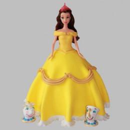 Sunshine Barbie Cake - 2 KG