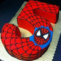 Spiderman Birthday Treat - 3 KG