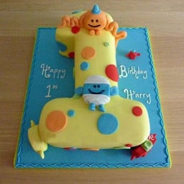 Happy Birthday Toddler Cake - 2 KG