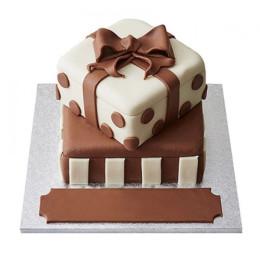 Special Gift Box Fondant Cake - 2 KG