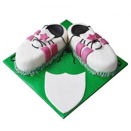 Sports Shoe Fondant Cake - 1 KG