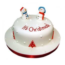 Snowman Christmas Cake - 1 KG